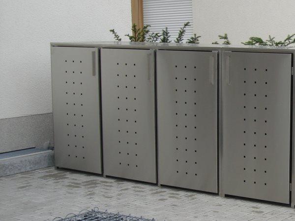 m lltonnenbox nicht begr nbar f r 4 m lltonnen. Black Bedroom Furniture Sets. Home Design Ideas