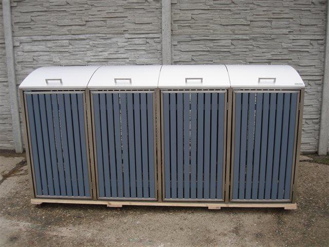 m lltonnenbox klappdach f r 4 m lltonnen 120 liter. Black Bedroom Furniture Sets. Home Design Ideas