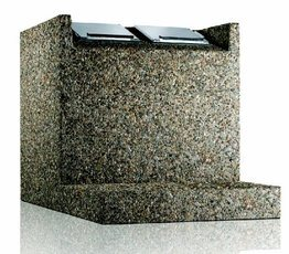 m lltonnenbox betonklassik eh 1100 passend f r 1 m llcontainer 1100 liter hersteller paul. Black Bedroom Furniture Sets. Home Design Ideas