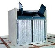 m llcontainerbox beton klassik 1100 us r bis 1 x 1100 liter f r leichtverpackungen hersteller. Black Bedroom Furniture Sets. Home Design Ideas
