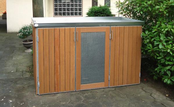 poubelle system tonnenhaus shop ein sch nes zuhause f r ihre m lltonnen m llboxen und mehr. Black Bedroom Furniture Sets. Home Design Ideas
